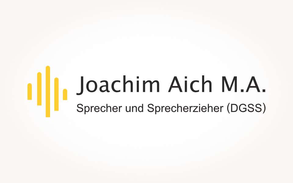 Joachim Aich - Der Sprechtrainer